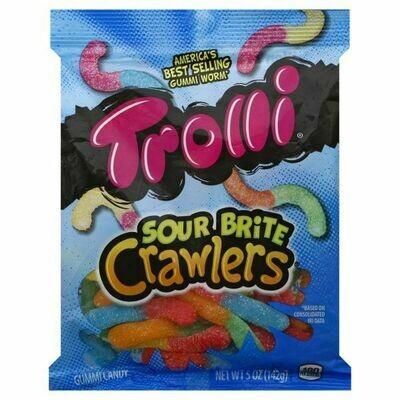 Trolli - Sour Brite Crawlers bag