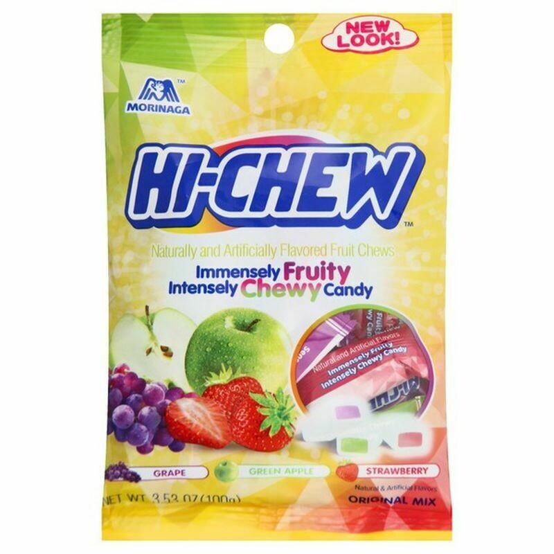 Hi Chew - Fruit Chew Bag, Original Mix