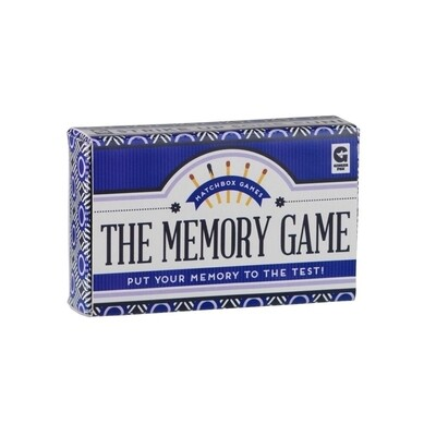 Matchbox Trivia - The Memory Game