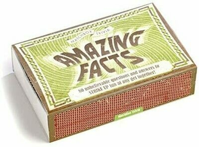 Matchbox Trivia - Amazing Facts