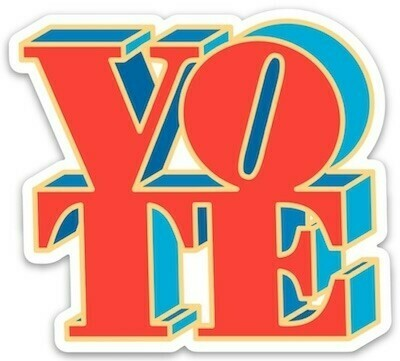 Die Cut Sticker - VOTE