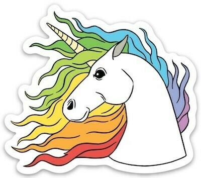 Die Cut Sticker - Unicorn
