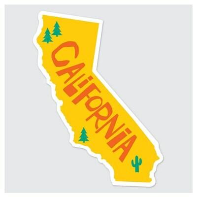 Die Cut Sticker - California