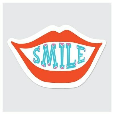 Die Cut Sticker - Smile