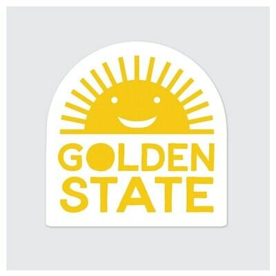 Die Cut Sticker - Golden State