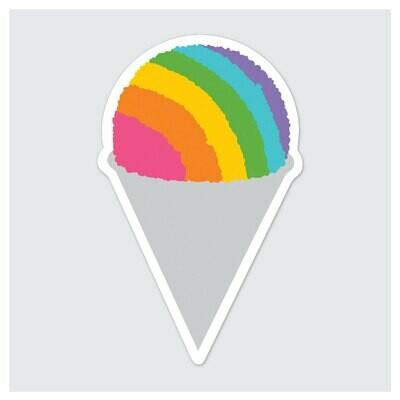 Die Cut Sticker - Snow Cone