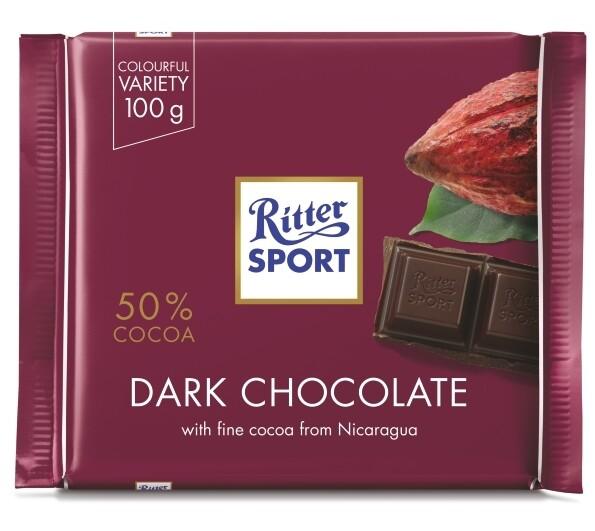 Ritter Sport - Dark Chocolate 50%