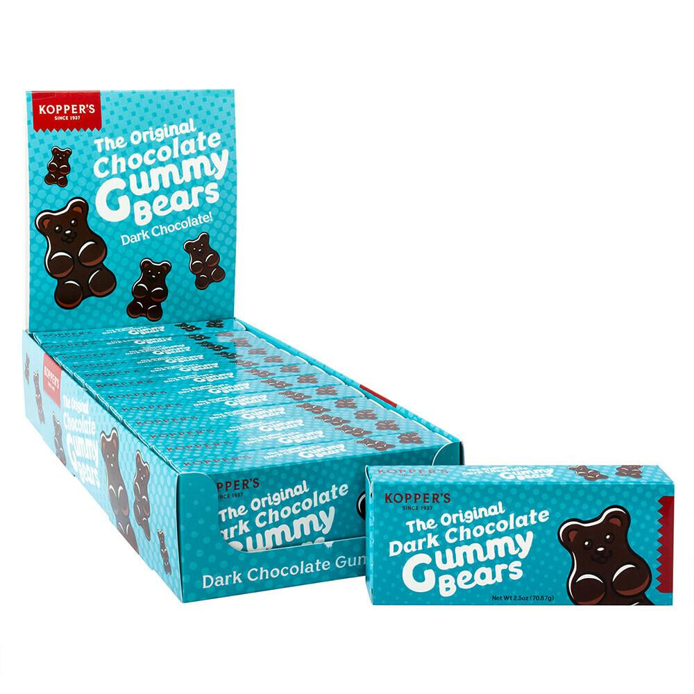 Koppers Dark Chocolate Gummy Bears