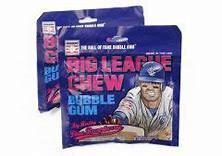 bIg League Chew Gum Blue Raspberry