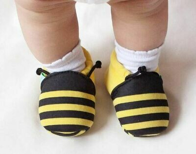 Baby Cloth Striped Shoes