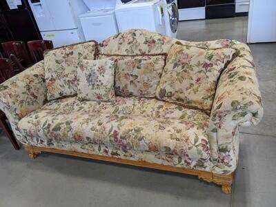 Floral Upholstered Sofa  #1047