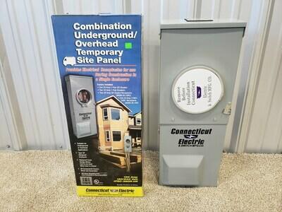 Combination Underground / Overhead Temporary Site Panel #2017