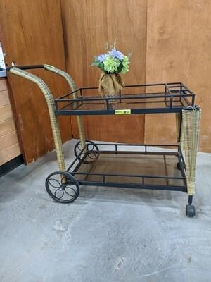 Rolling Beverage Cart #1082