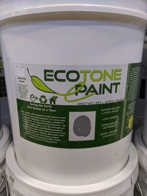 EcoTone IN5 - 5 Gallon INDUSTRIAL GREY Paint