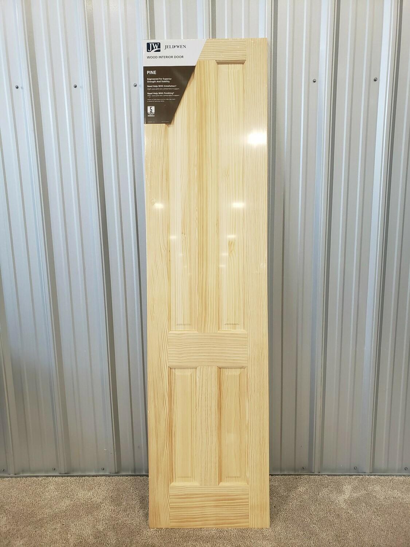 """4 Panel Solid Pine Door 24"""" x 96"""" #2041"""
