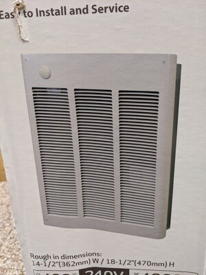 Electric Wall Heater 4000W 240V #1127