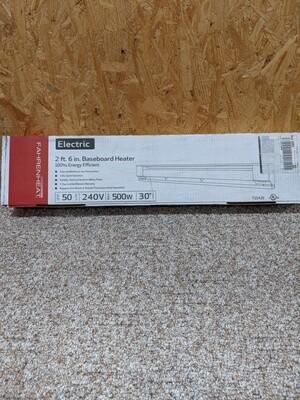 Electric Baseboard Heater 500W 240V #1129
