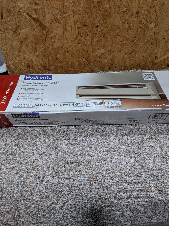 Electric Baseboard Heater 1000W 240V #1130