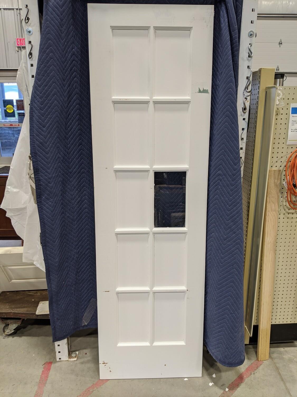 White 10-Lite Wood Door #2300