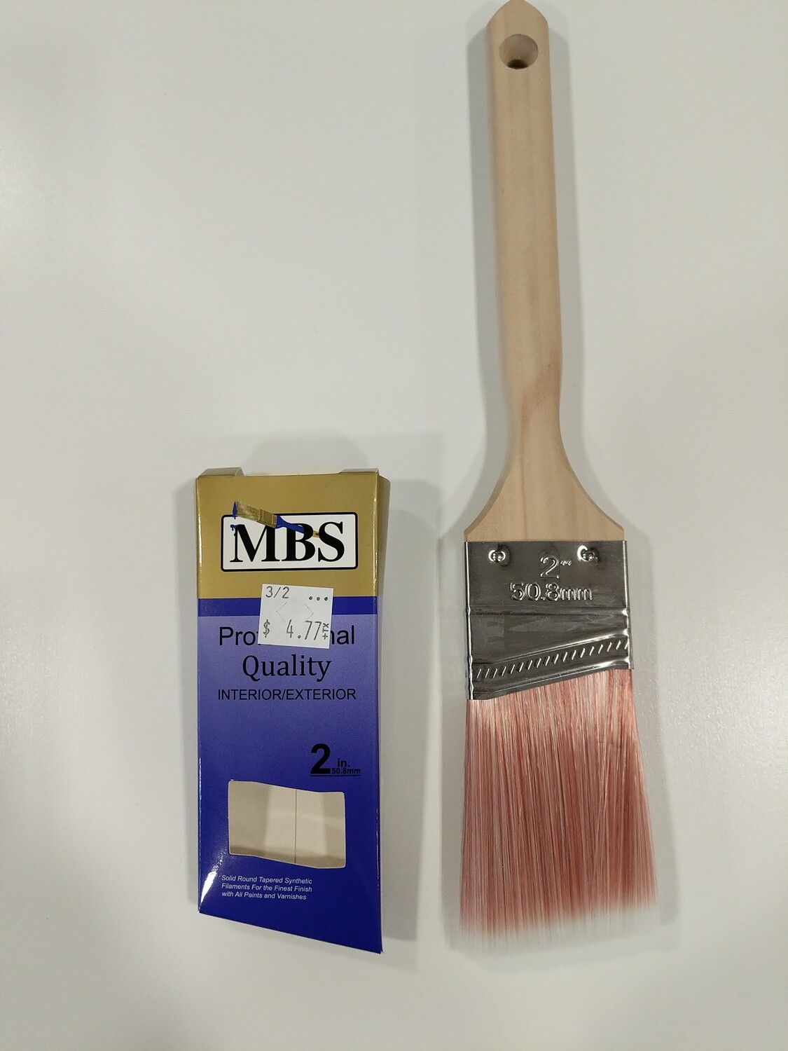 "PAINT BRUSH--2"" ANGLE 'PROFESSIONAL'--SASH HANDLE"