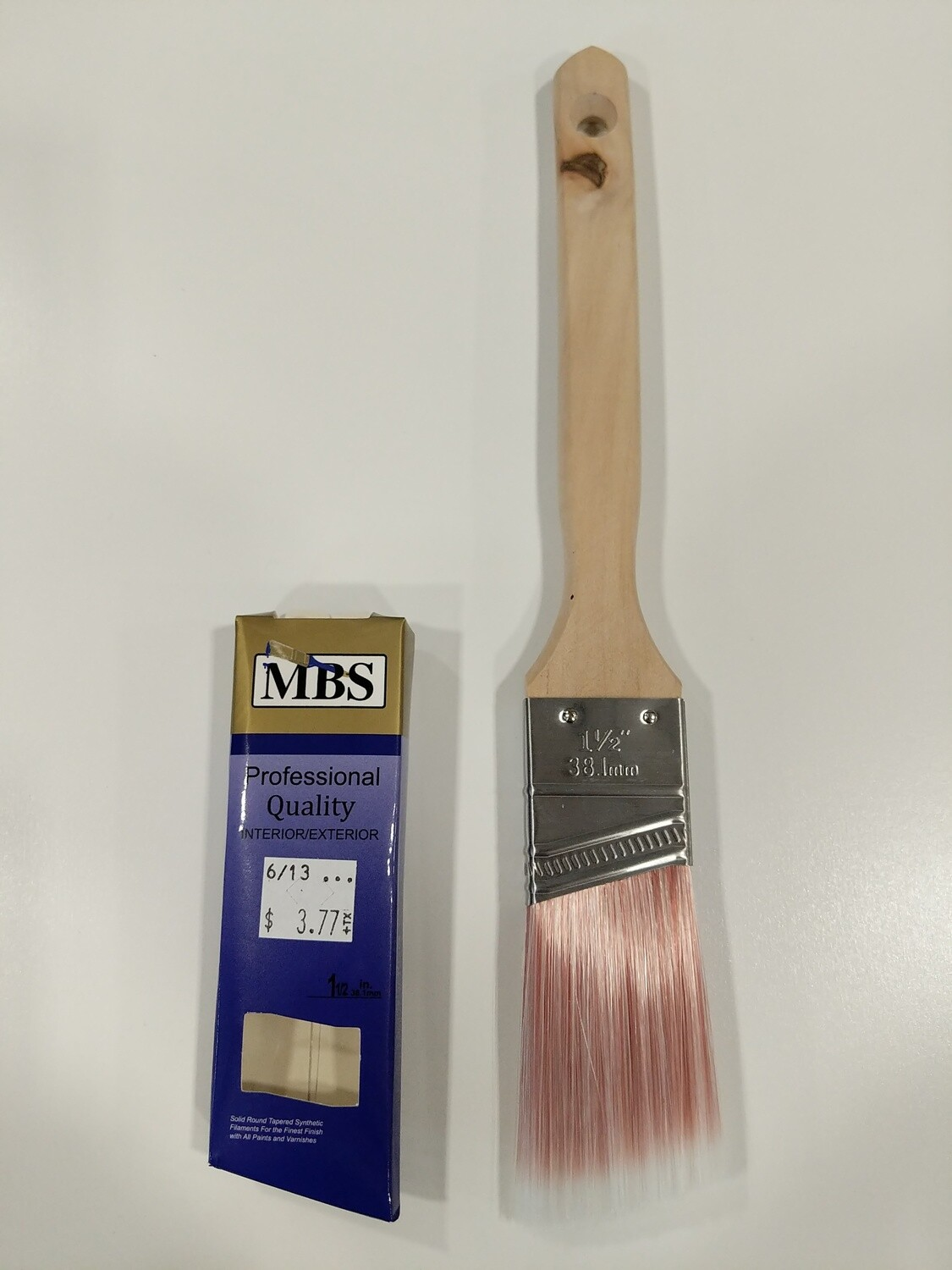 "PAINT BRUSH--1-1/2"" ANGLE 'PROFESSIONAL'--SASH HANDLE"