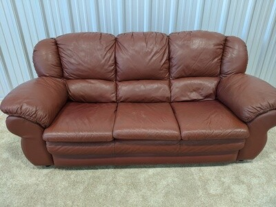 Leather Couch #1802