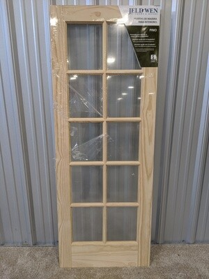 Pine 10-Lite Interior Door #1814