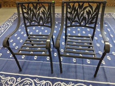 Metal Patio Chairs (Set of 2) #1250