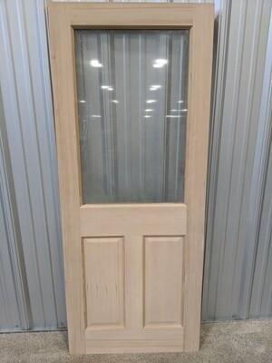 Paneled Door with Window #1483