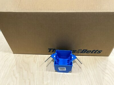 2 Gang Switch Box New Construction Contractor Pack #1498