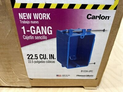 Case of 100 1-Gang Electrical Box #1501