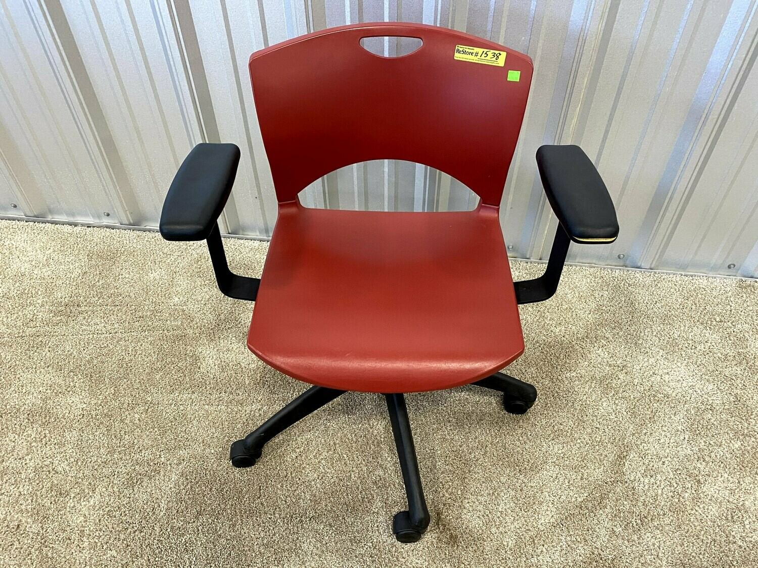 Red Office Chair #1538
