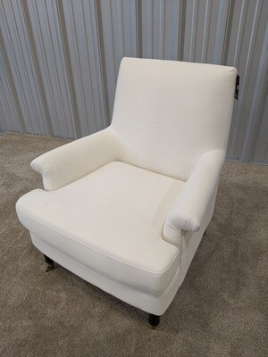 Threshold Rolled Upholstered Arm Chair #7220