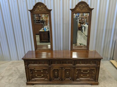 Dresser with Two Mirrors #1651