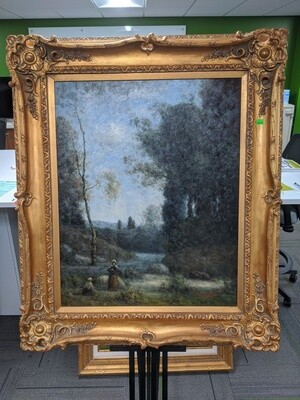 Original Stephano Oil Painting #1854
