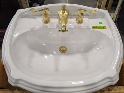 Pedestal Sink #1908