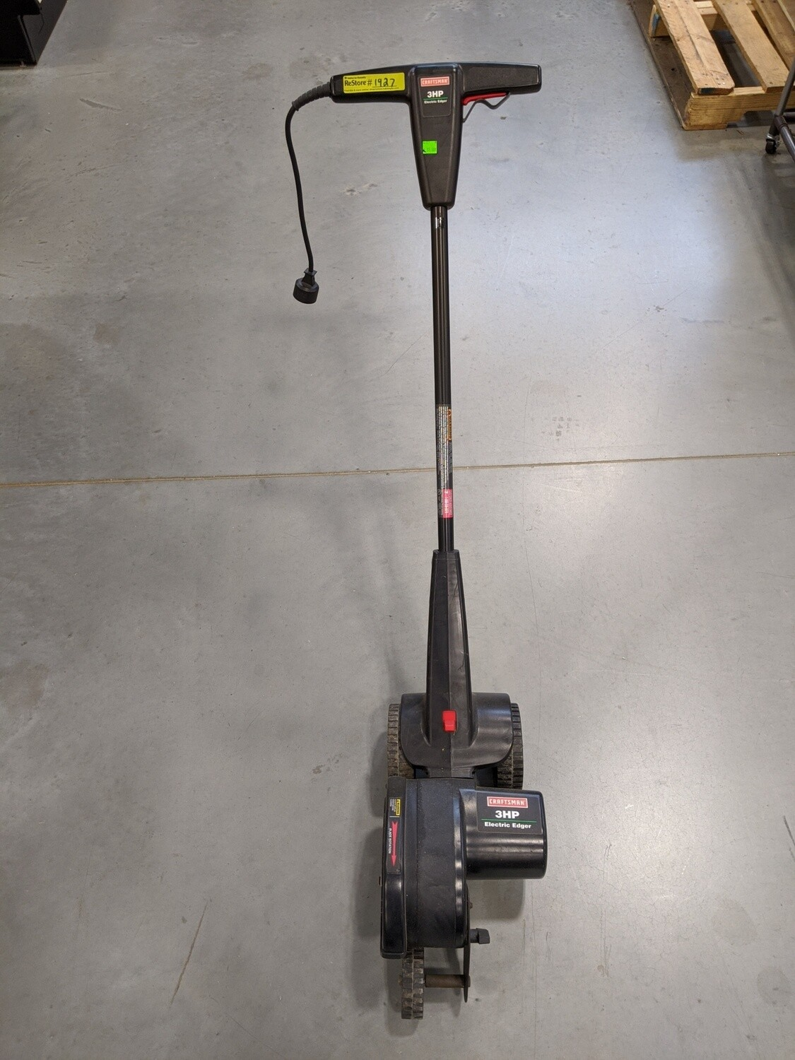 Craftsman 3HP Electric Edger #1927