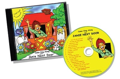 CD - Come Sing Along with Janie Next Door™