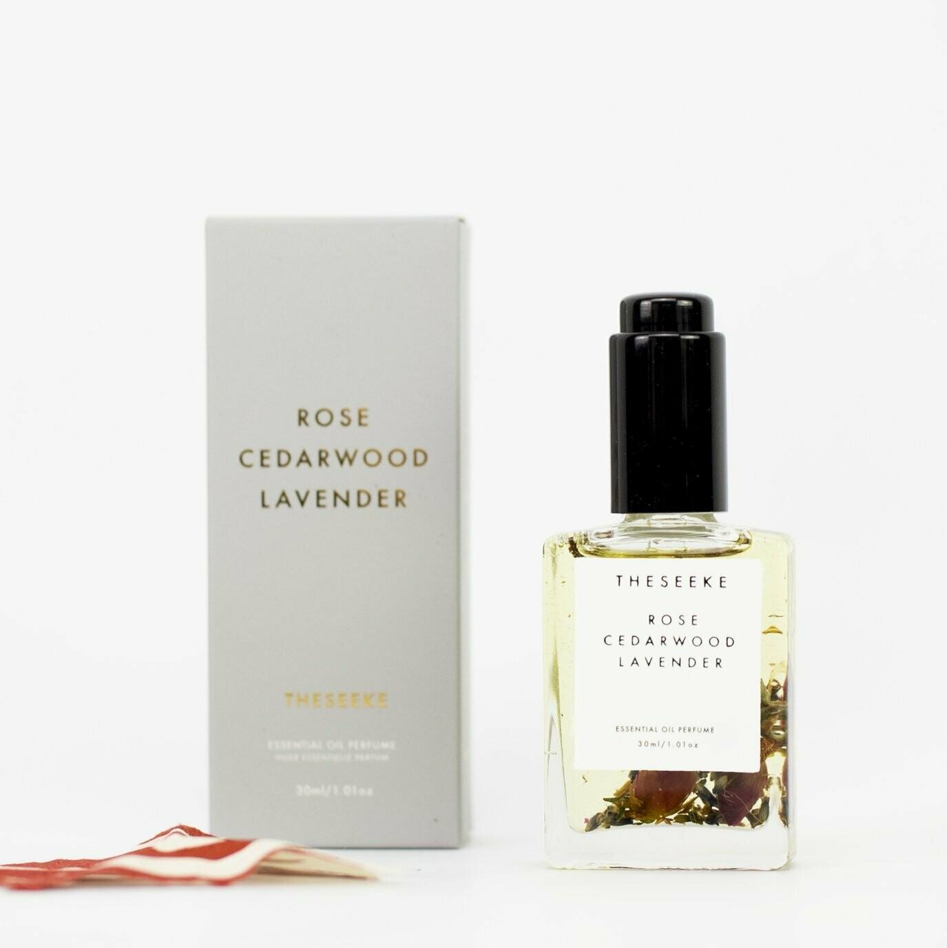 Theseeke - Rose, Cedarwood & Lavender