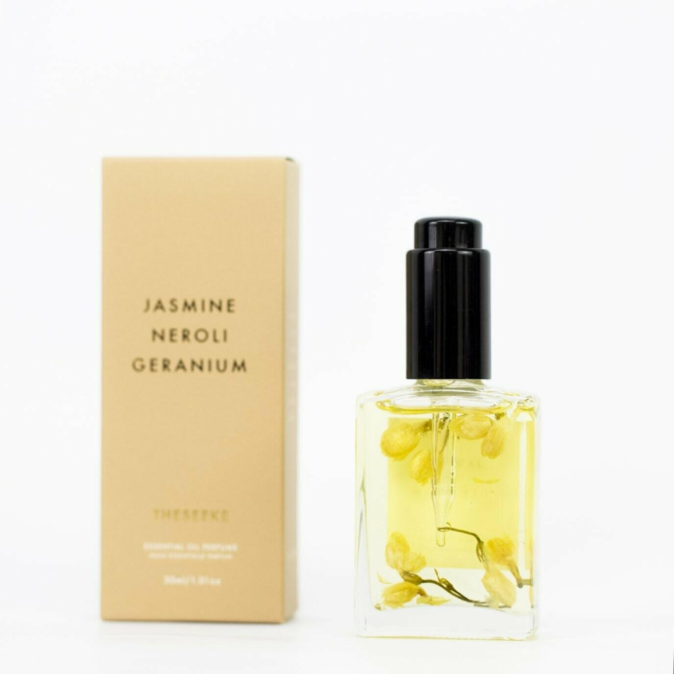 Theseeke - Jasmine, Neroli & Geranium Perfume