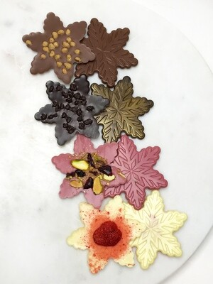 THE CHOCOLATE SNOWFLAKE COLLECTION