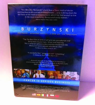BURZYNSKI, CANCER IS SERIOUS BUSINESS  DVD