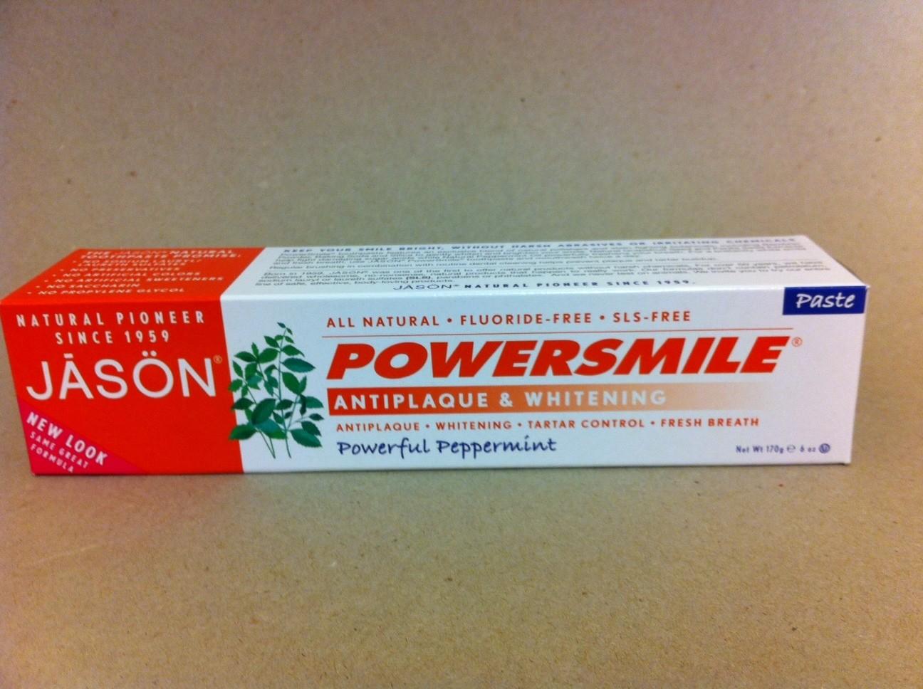 Jason Powerful Peppermint Toothpaste