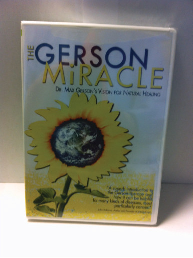 THE GERSON MIRACLE  DVD