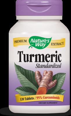 Turmeric Standardized    120 count