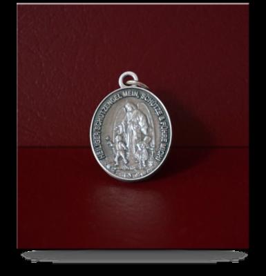 Medaille oval – Schutzengel