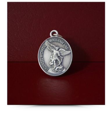 Medaille oval – Erzengel Michael