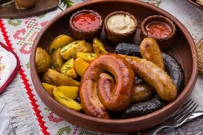 Смачные домашние колбаски