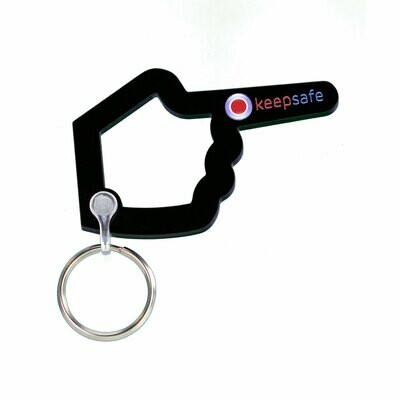 Keepsafe Helping Hand Keyring