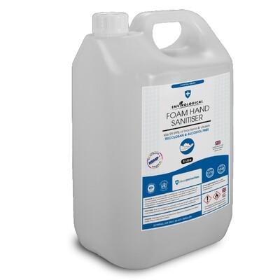 Foam Hand Sanitiser - 5ltr